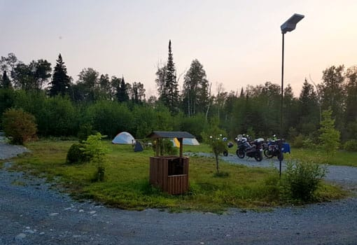 emplacement camping tentes